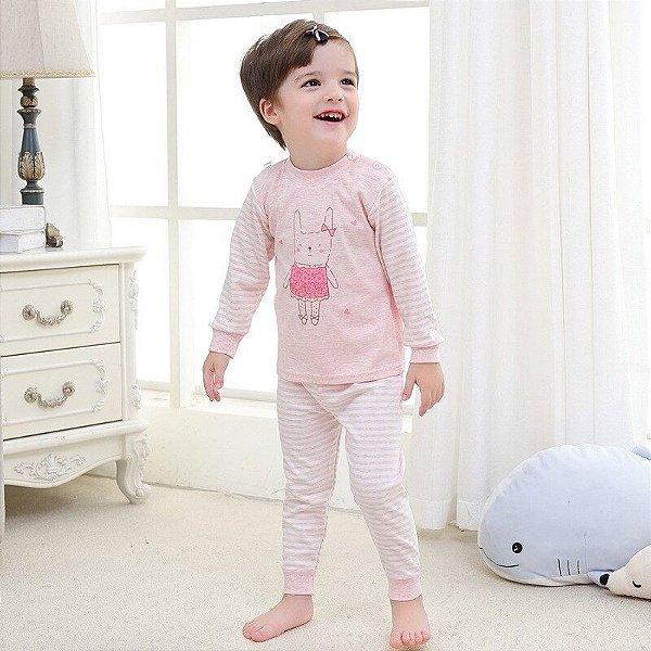 Pijama Estampado Rose - 2 cores