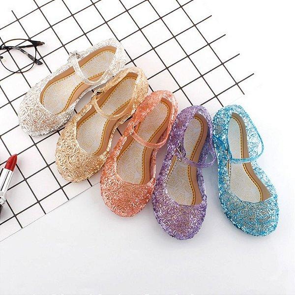Sandália Cristal - 5 cores