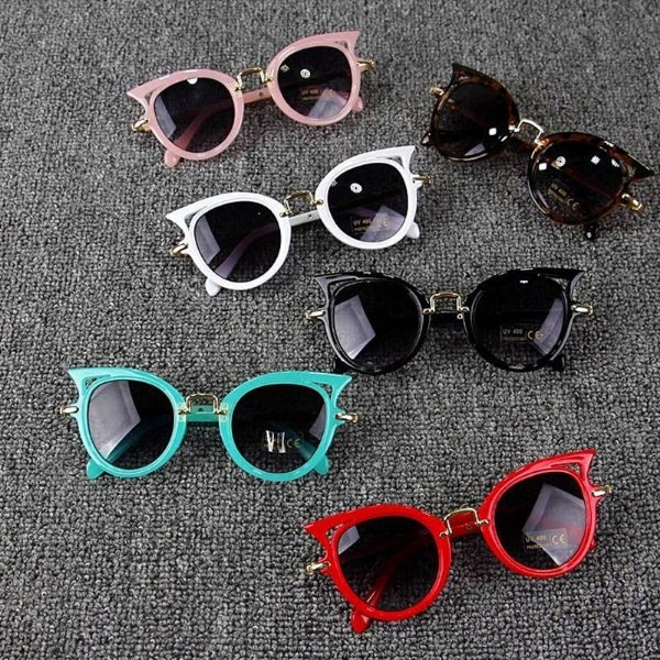 Óculos Gatinho Kids - 6 cores
