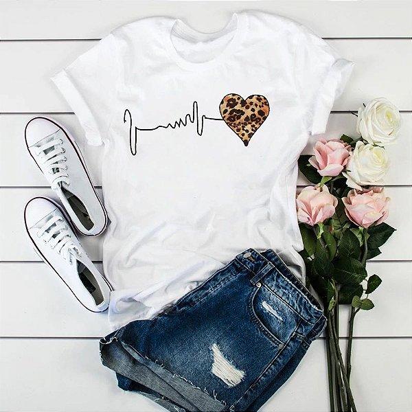 T-shirt Heart Básica