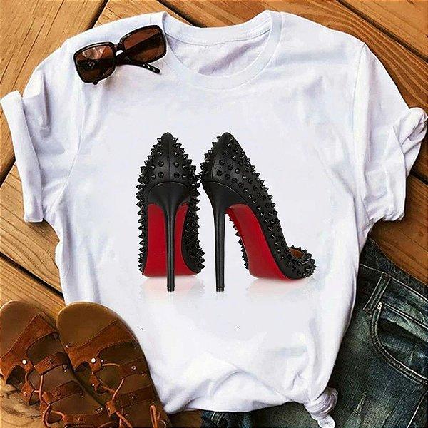 T-shirt High Heels