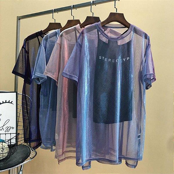 Blusa Sobreposição Stereotype - 3 cores