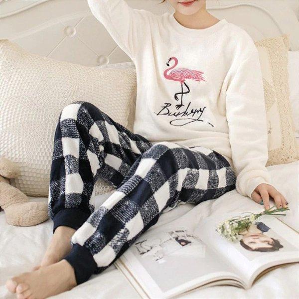 Pijama Inverno - 3 cores
