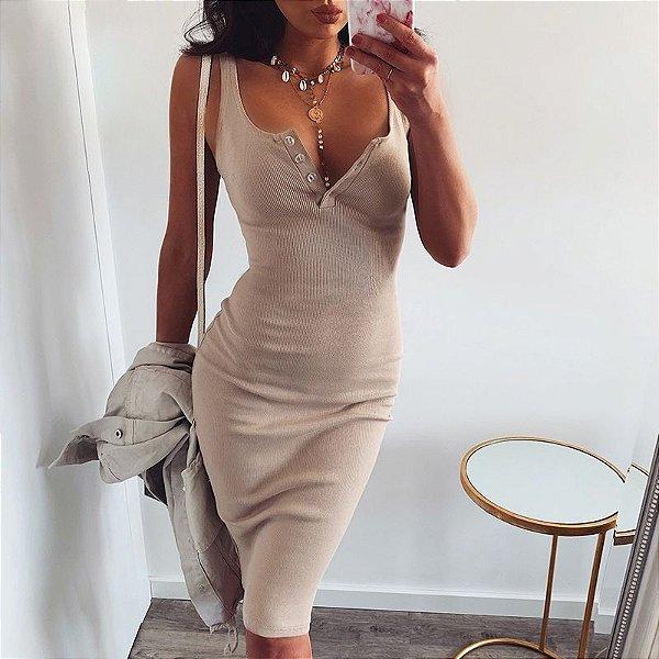 Vestido Malha Tubinho - 6 cores