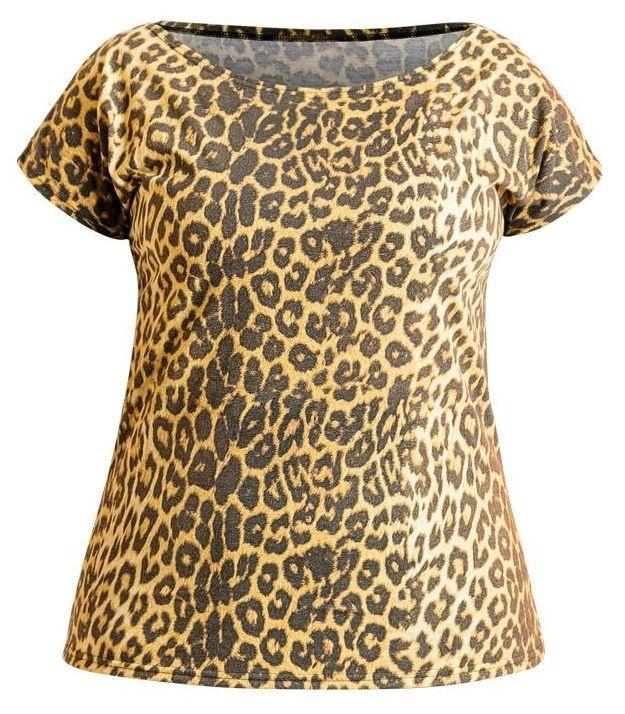 Blusa Estampa Onça Plus Size