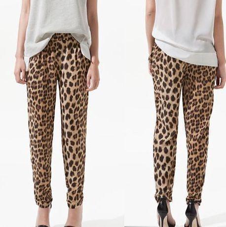 Calça Leopard Print
