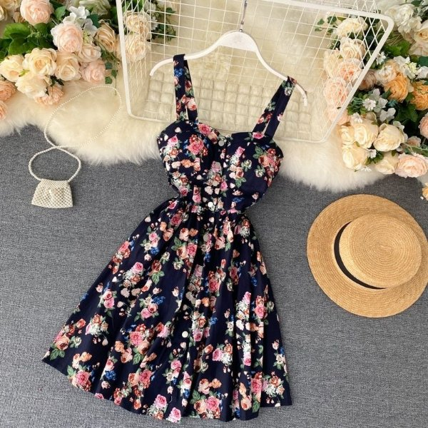 Vestido Delicate Floral - 4 cores