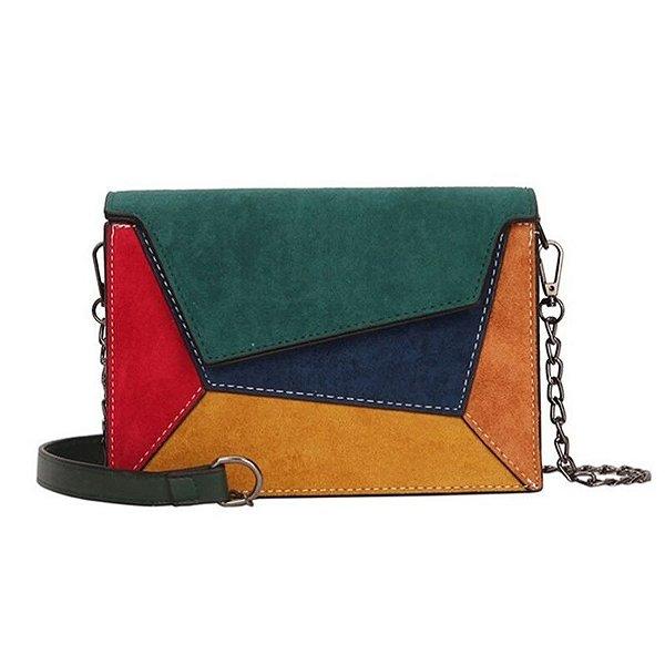 Bolsa Retro Multicolor - 4 cores