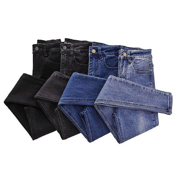 Calça Skinny Cós Alto - 4 cores