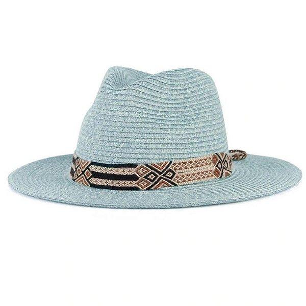 Chapéu Faixa Estampada - 7 cores
