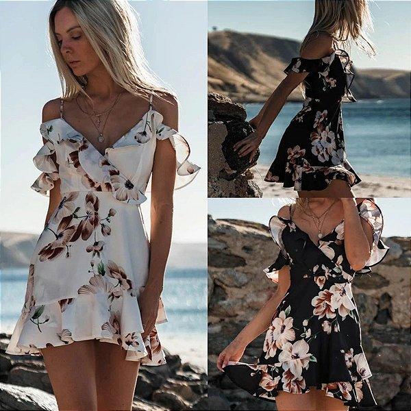 Vestido Sunset Floral - 2 cores