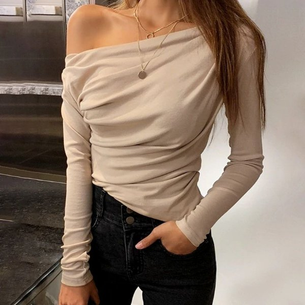 Blusa One Shoulder - 8 cores
