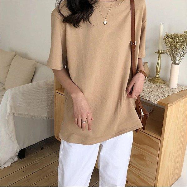 Blusa Longsize Simples - 4 cores