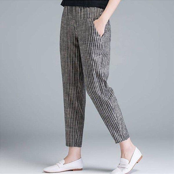 Calça Comfort Listras - 2 cores
