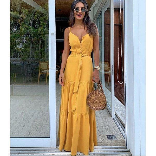 Vestido Longo Top Model - 5 cores