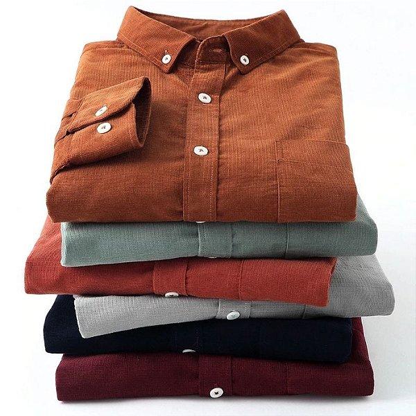 Camisa Velvet - 6 cores