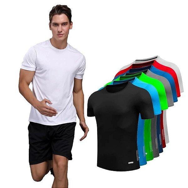 Camiseta Simples Fit - 7 cores