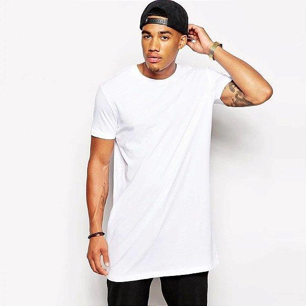 Camiseta Longsize Simples - 2 cores