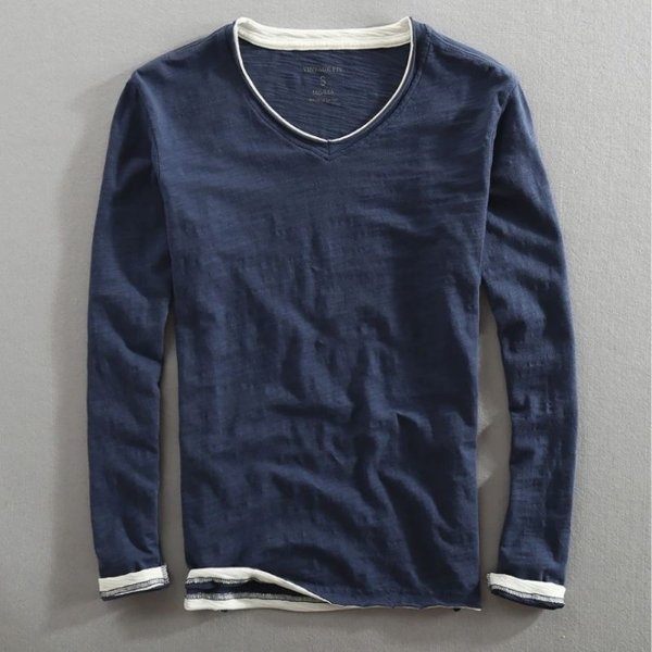 Camiseta Manga Longa Spring - 3 cores