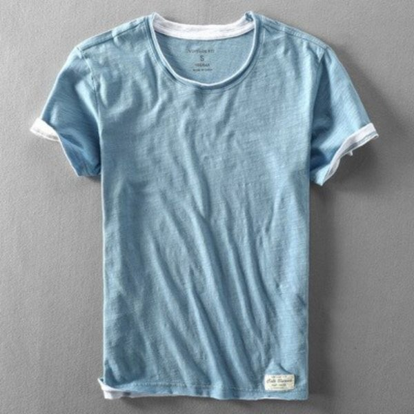 Camiseta Simples Cotton - 5 cores