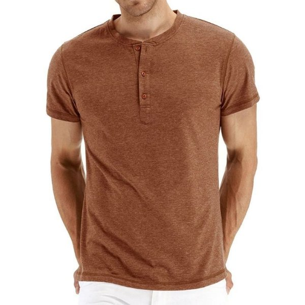 Camiseta Cotton Botões - 9 cores