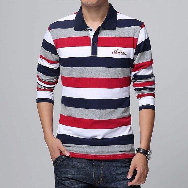 Camiseta Polo Julian - 3 cores