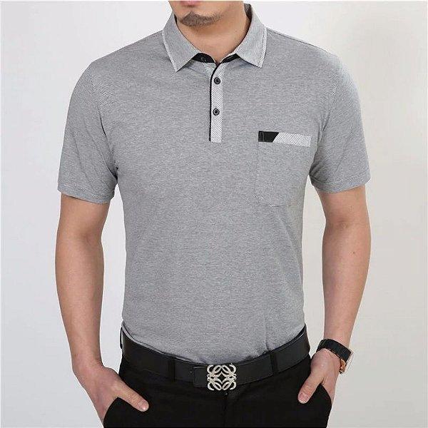 Camiseta Polo Cotton - 2 cores