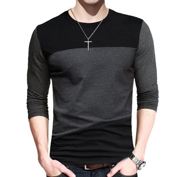 Camiseta Colorblock Dark