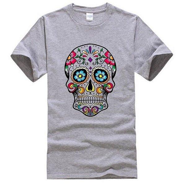 Camiseta Skull - 10 cores