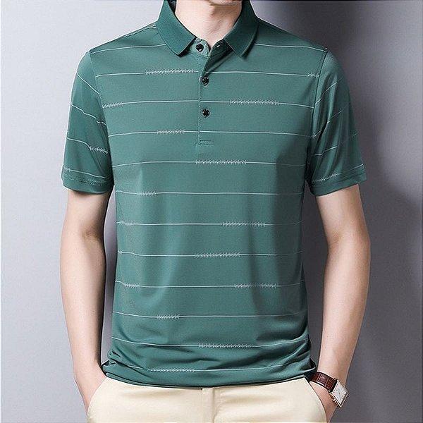 Camiseta Polo Lines - 4 cores