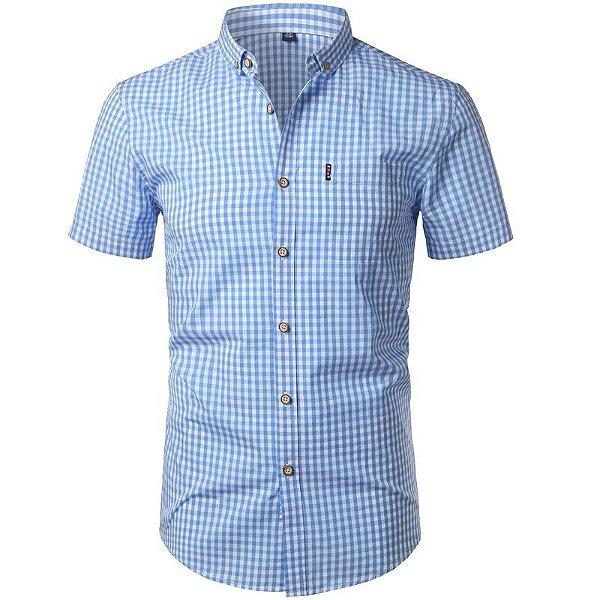 Camisa Casual Xadrez - 4 cores