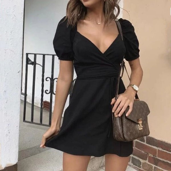 Vestido Curto Black