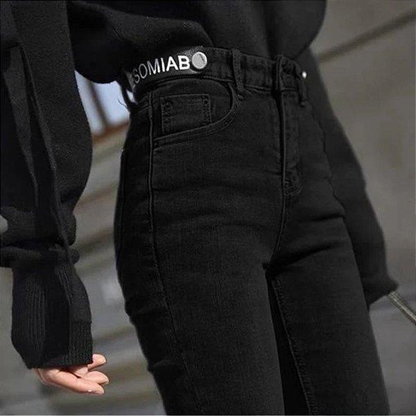 Calça Denim Jeans Dark - 2 cores