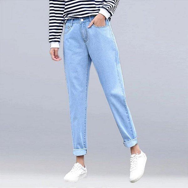 Calça Mom Jeans Neutral - 4 cores