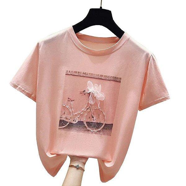 T-shirt Bike - 2 cores