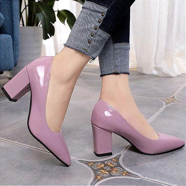 Sapato Salto Bride - 5 cores