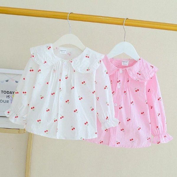 Blusa Cerejinhas - 2 cores