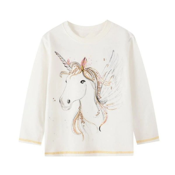 Blusa Unicorn White