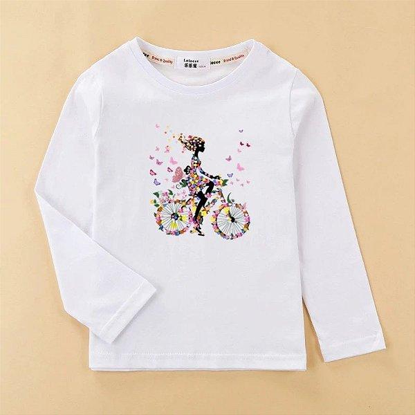Blusa Bike Manga Longa - 7 cores