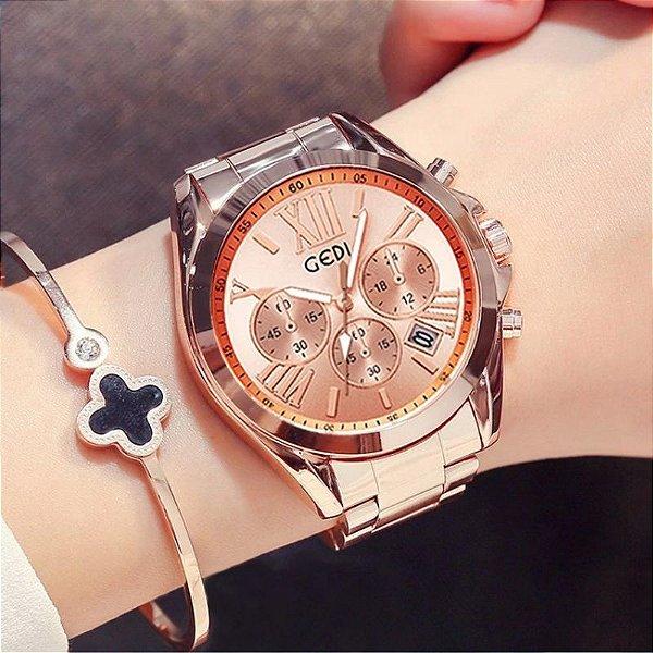 Relógio Feminino Gedi - 9 cores
