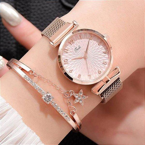 Relógio Magnet - 7 cores