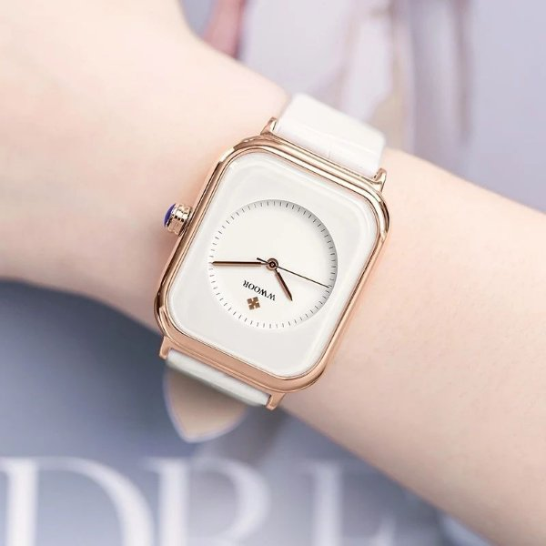 Relógio Pulseira Craquelada - 5 cores