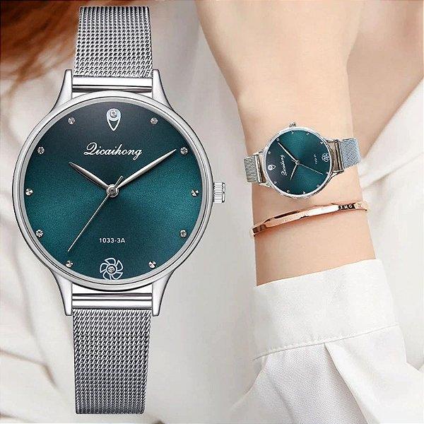 Relógio Silver - 5 cores
