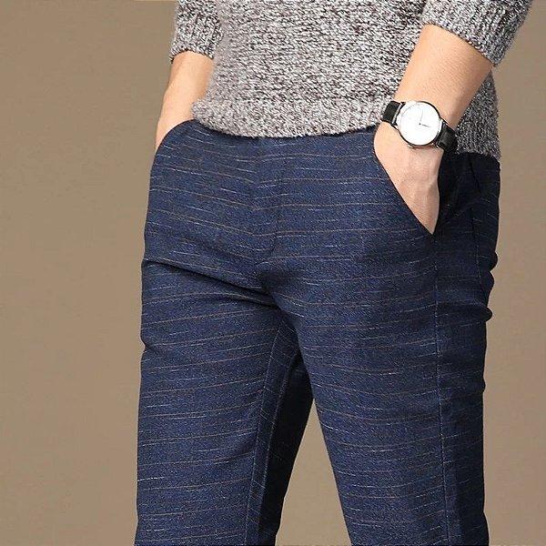 Calça Listras Miúdas - 3 cores