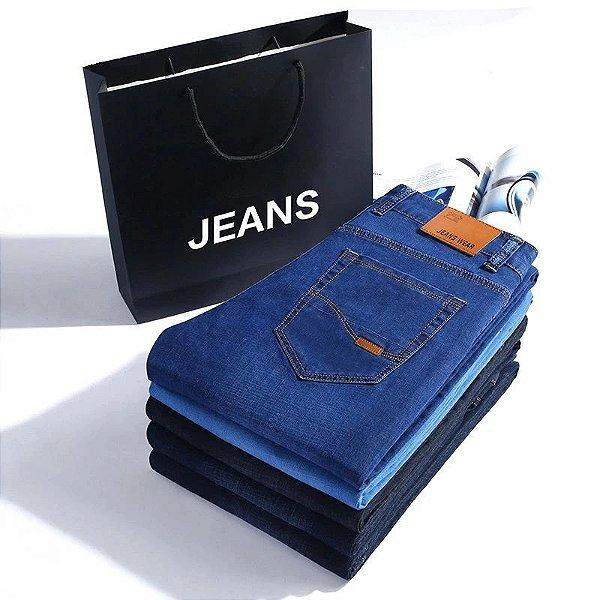 Calça Jeans Simples Masculina - 3 cores