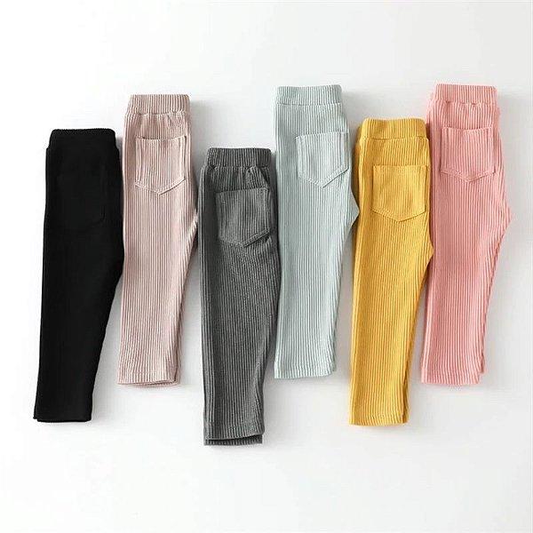 Calça Legging Canelada - 6 cores