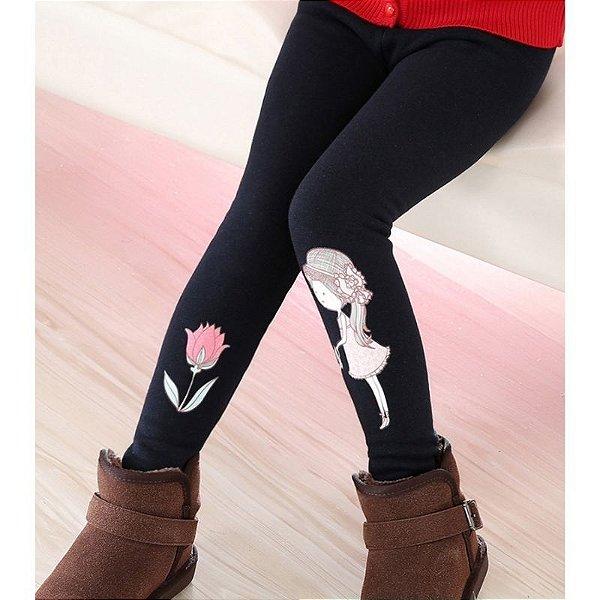 Calça Legging Little Girl - 5 cores