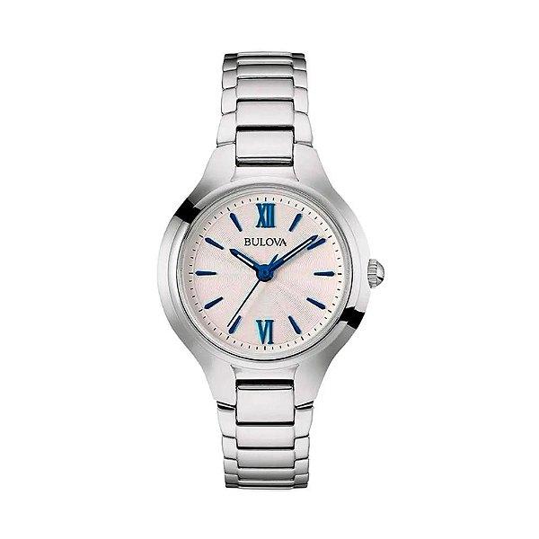Bulova relógio feminino coleção Classic 96L215