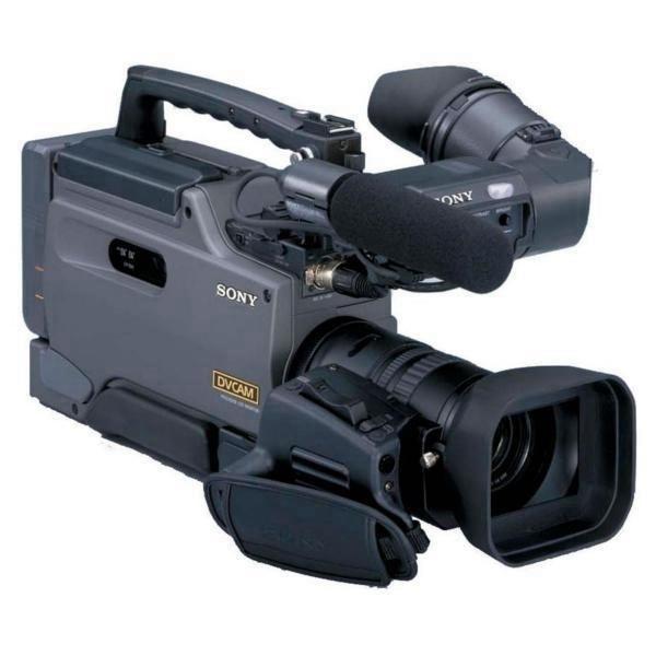 """Camcorder Sony DSR-250/1 LCD de 2,5"""" 3 CCD - Cinza"""