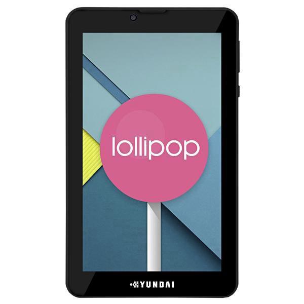 """Tablet Hyundai Maestro Tab HDT-7435G4 Dual SIM 8GB de 7.0"""" 2MP/VGA OS 6.0 - Preto"""
